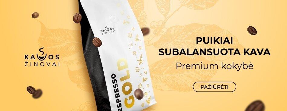 Espresso gold