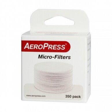 Popieriniai filtrai kavinukui AeroPress 350vnt.