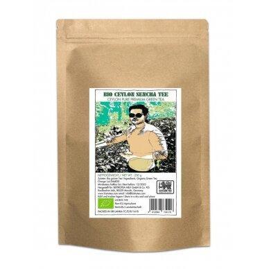 Biri ekologiška žalioji arbata Ceilono Sencha 250 g.
