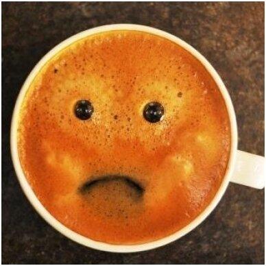 Kodėl kava neskani?