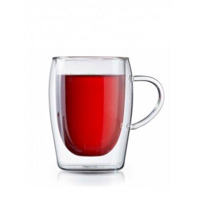 """Dvigubo stiklo stiklinės MPL """"Arbatos"""" 300ml 2vnt 2"""
