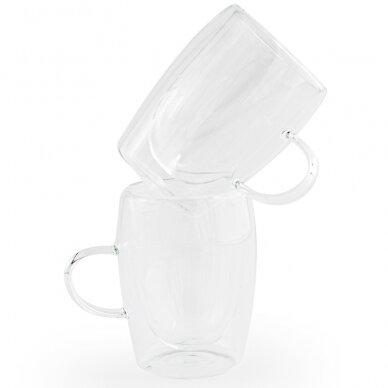 """Dvigubo stiklo stiklinės MPL """"Arbatos"""" 300ml 2vnt"""