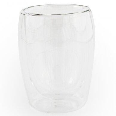 "Dvigubo stiklo stiklinės MPL ""Cappuccino"" 300ml 2vnt 2"