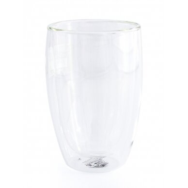 Dvigubo stiklo stiklinės Wilmax 300ml 1vnt