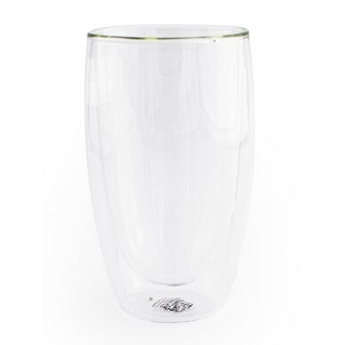 Dvigubo stiklo stiklinės Wilmax 500ml 1vnt