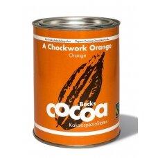 "Ekologiška kakava Becks Cacao ""A Chockwork Orange"" 250 g."