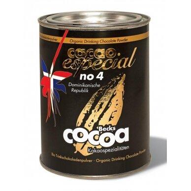 "Ekologiška kakava Becks Cacao ""Especial no. 4 dominikos Respublika"" 250 g."