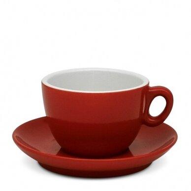 "Inker cup ""Cappuccino Red"" puodelis su polėkšte 170ml"