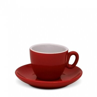 "Inker cup ""Espresso Red"" puodelis su polėkšte 70ml"
