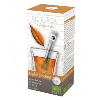 """Juodoji arbata BistroTea """"English Breakfast"""" 15vnt. lazdelių"""