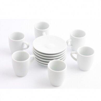 Espresso puodeliai JURA 6 vnt.