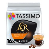 "Kavos kapsulės L'OR Tassimo ""Espresso Delizioso"" 16 kap."