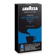 "Kavos kapsulės Lavazza Nespresso ""Decaffeinato Ricco"" 10vnt."