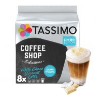 "Kavos kapsulės Tassimo ""Coffee Shop Selections White Choco Coconut Latte"" 16 kap."