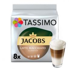 """Kavos kapsulės Jacobs Tassimo """"Latte Macchiato Classico"""" 16 kap."""