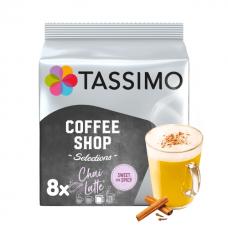 """Kavos kapsulės Tassimo """"Coffee Shop Selections Chai Latte"""" 16 kap."""