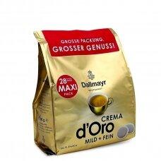 """Kavos pagalvėlės Dallmayr """"Crema"""" 28vnt."""