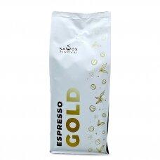 """Kavos pupelės Kavos Žinovai """"Espresso GOLD"""" 1kg"""