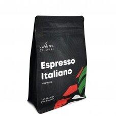 """Kavos pupelės Kavos Žinovai """"Espresso Italiano"""" 250g."""