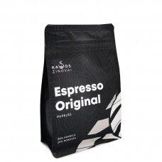 """Kavos pupelės Kavos Žinovai """"Original"""" 250g."""