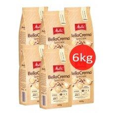 """Kavos pupelės Melitta """"BellaCrema Speciale"""" 6kg"""