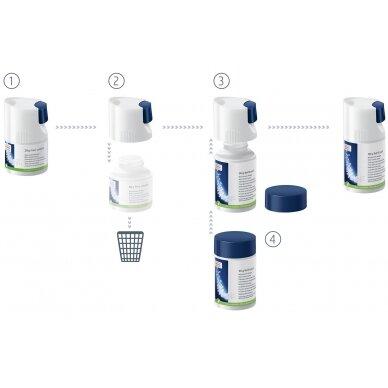 Pieno sistemos valymo granulės JURA 90g. 2