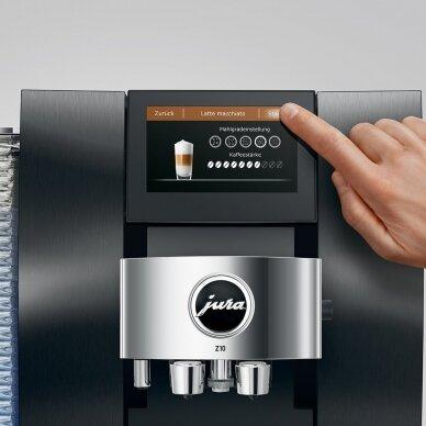 """Kavos aparatas JURA """"Z10 Aluminium Black"""" 5"""