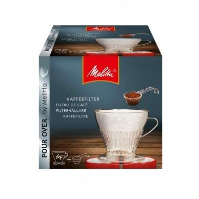 """Kavos filtro laikiklis su šaukšteliu kavai """"Melitta"""" 1X4"""