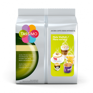 "Kavos kapsulės Jacobs Tassimo ""Cafe Crema Intenso XL"" 16 kap. 2"