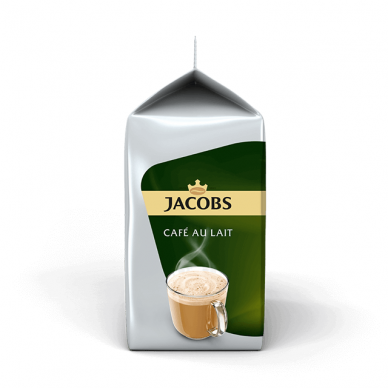 "Kavos kapsulės Jacobs Tassimo ""Cafe au Lait"" 16 kap. 3"