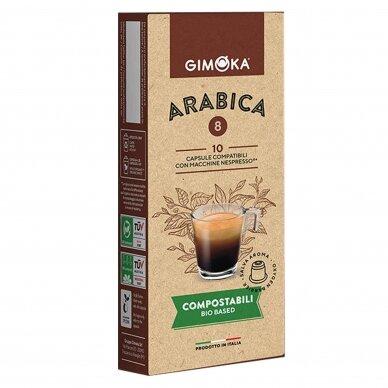 "Kavos kapsulės Gimoka Nespresso ""BIO Arabica"" 10vnt."
