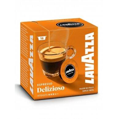 """Kavos kapsulės Lavazza A Modo Mio """"Delizioso"""" 16vnt."""
