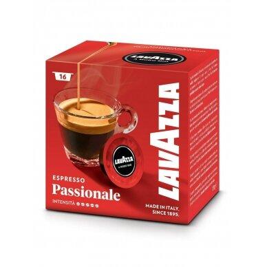 "Kavos kapsulės Lavazza A Modo Mio ""Passionale"" 16vnt."