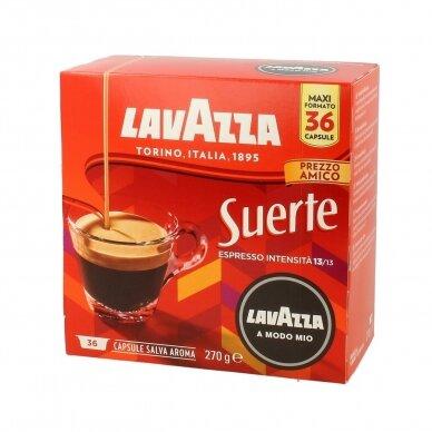 "Kavos kapsulės Lavazza A Modo Mio ""Suerte"" 36vnt."
