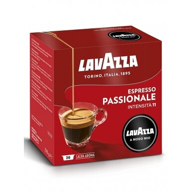 "Kavos kapsulės Lavazza A Modo Mio ""Passionale"" 36vnt."