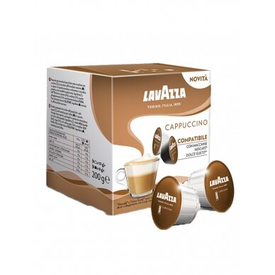 "Kavos kapsulės Lavazza Dolce Gusto ""Cappuccino"""