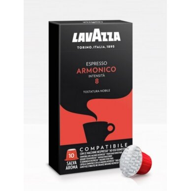 "Kavos kapsulės Lavazza Nespresso ""Armonico"" 10vnt."