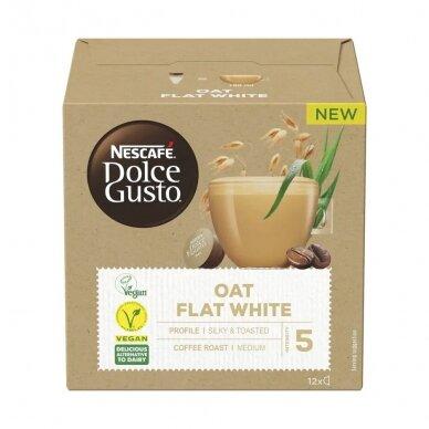"Kavos kapsulės NESCAFÉ Dolce Gusto ""Oat Flat White"" 2"