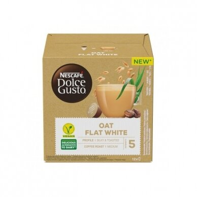 "Kavos kapsulės NESCAFÉ Dolce Gusto ""Oat Flat White"" 3"