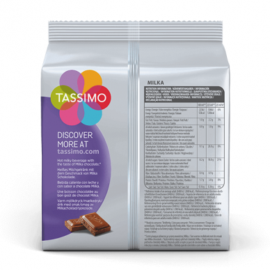 Karštas šokoladas Milka Tassimo 8 kap. 2