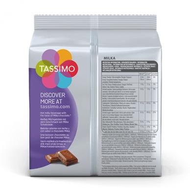 Karštas šokoladas Milka Tassimo 16 kap. 2