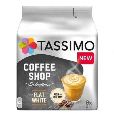 "Kavos kapsulės Tassimo ""Coffee Shop Selections Flat White"" 16 kap."