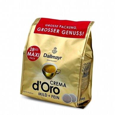 """Kavos pagalvėlės Dallmayr """"Crema"""" 28vnt. 3"""