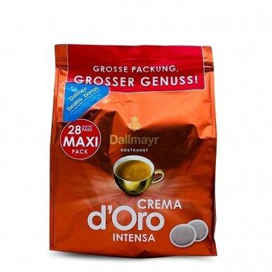 """Kavos pagalvėlės Dallmayr """"Crema intensa"""" 28vnt. 2"""