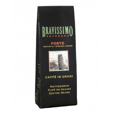 """Kavos pupelės Bravissimo """"Forte"""" 1kg"""