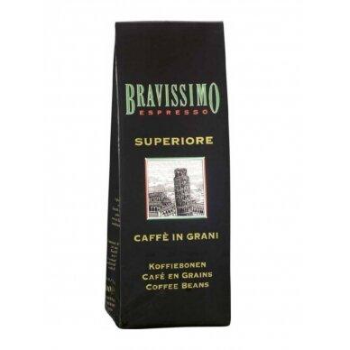 """Kavos pupelės Bravissimo """"Superiore"""" 1kg"""