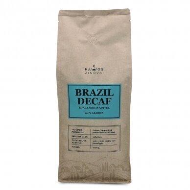 "Kavos Pupelės ""Brazil Decaf"" 1kg. 2"