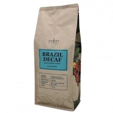 "Kavos Pupelės ""Brazil Decaf"" 1kg. 3"