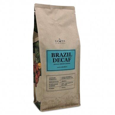 "Kavos Pupelės ""Brazil Decaf"" 1kg."