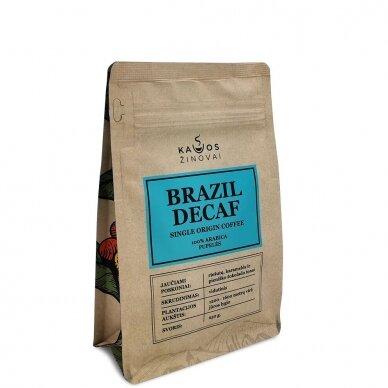 "Kavos pupelės ""Brazil Decaf"" 250g."
